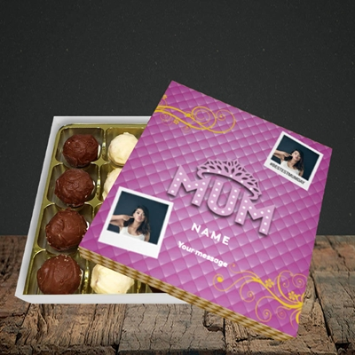 Picture of Bestest Mum, Mother's Day Design, Choc 16