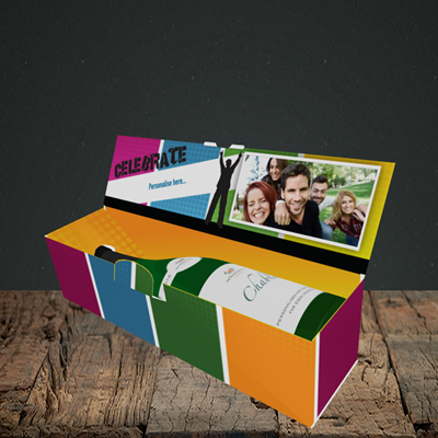 Picture of Silhouette, Celebration Design, Lay-down Bottle Box