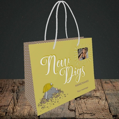 Picture of New Digs, New Home Design, Small Landscape Gift Bag