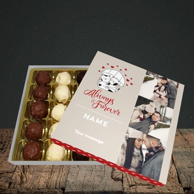 Picture of Always & Forever, Valentine's Design, Choc 25