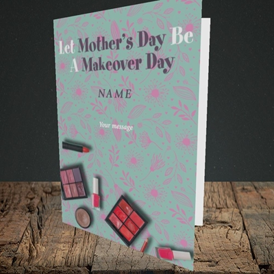 Picture of Makeover Day(No Photo), Mother's Day Design, Portrait Greetings Card