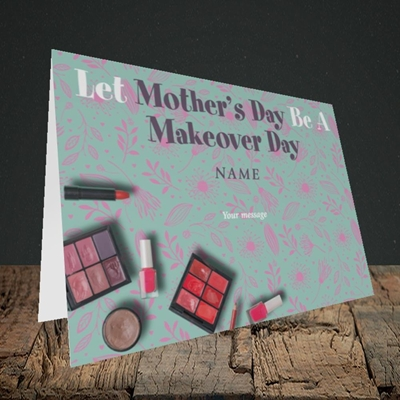 Picture of Makeover Day(No Photo), Mother's Day Design, Landscape Greetings Card