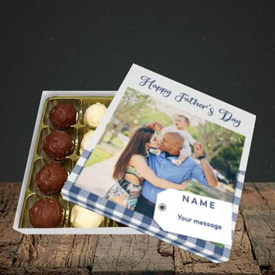 Picture of 1. Large Photo, Father's Day Design, Choc 16