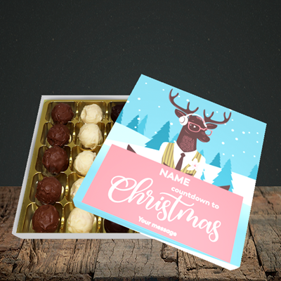 Picture of Countdown(Without Photo), Christmas Design, Choc 25