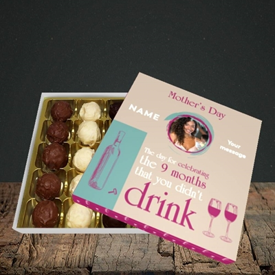 Picture of Didn't Drink, Mother's Day Design, Choc 25