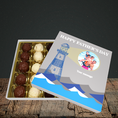 Picture of Lighthouse, Father's Day Design, Choc 25