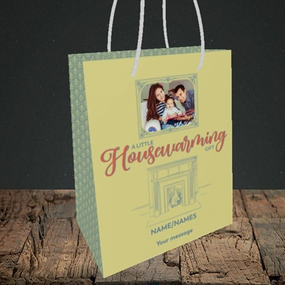 Picture of Housewarming, New Home Design, Small Portrait Gift Bag