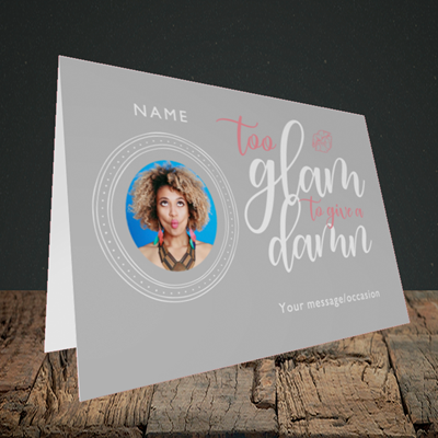 Picture of Glam, Birthday Design, Landscape Greetings Card