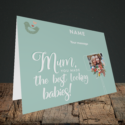 Picture of Best Looking Babies, Mother's Day Design, Landscape Greetings Card