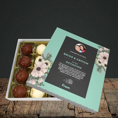 Picture of Flowers Green B&G, Wedding Design, Choc 16