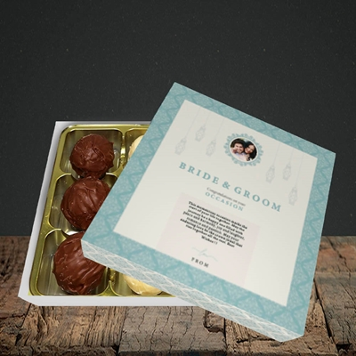 Picture of Moroccan Influences Teal B&G, Wedding Design, Choc 9