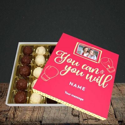 Picture of You Can & You Will, Thinking Of You Design, Choc 25