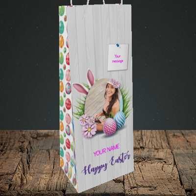 Picture of Grass, Easter Design, Bottle Bag