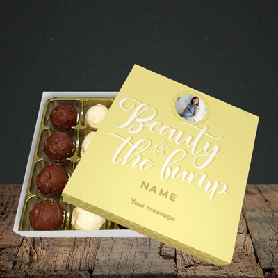 Picture of Beauty & The Bump, Pregnancy Design, Choc 16