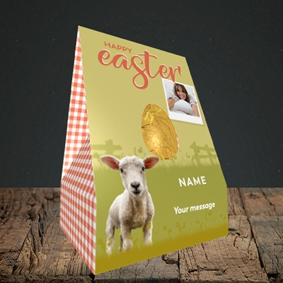 Picture of Lamb To See You, Easter Design, Truffle Easter Egg