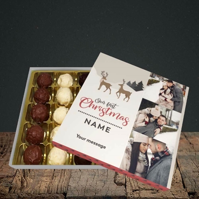 Picture of Our First Christmas, Christmas Design, Choc 25
