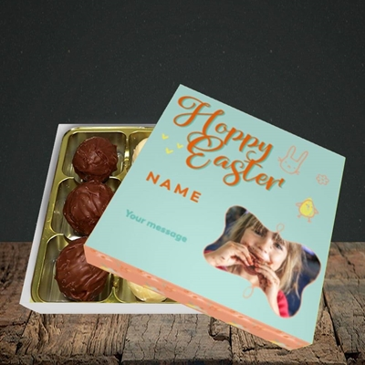 Picture of Hoppy Easter, Easter Design, Choc 9