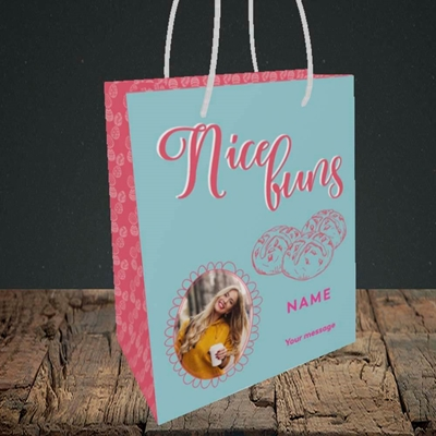 Picture of Nice Buns, Easter Design, Small Portrait Gift Bag
