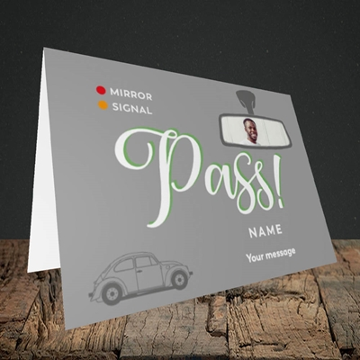 Picture of Mirror Signal Pass, Celebration Design, Landscape Greetings Card