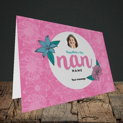 Picture of Happy Mother's Day Nan, Mother's Day Design, Landscape Greetings Card