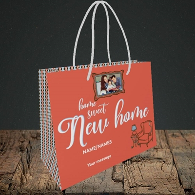 Picture of Sweet New Home, New Home Design, Small Landscape Gift Bag