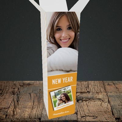 Picture of Photo, New Year Box Design, Upright Bottle Box