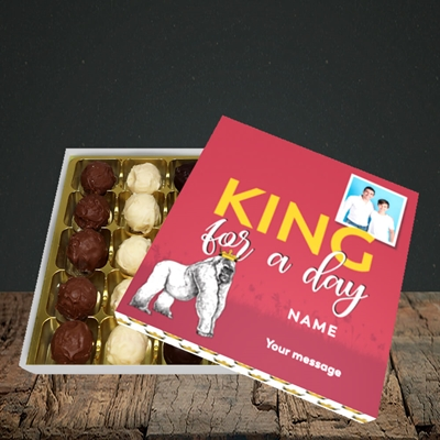 Picture of King For A Day, Father's Day Design, Choc 25
