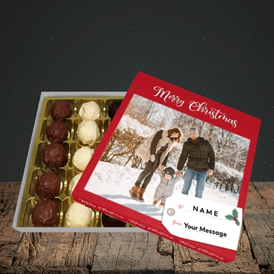 Picture of 1. A Merry Christmas, Large Photo, Christmas Design, Choc 25