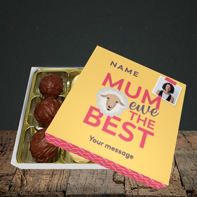 Picture of Ewe The Best, Mother's Day Design, Choc 9