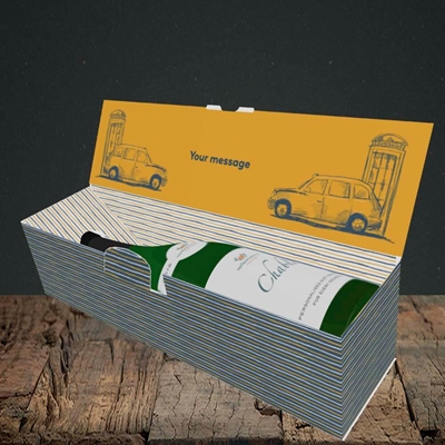 Picture of Taxi(Without Photo), Mother's Day Design, Lay-down Bottle Box