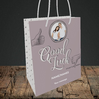 Picture of Sh*t Up North, New Home Design, Small Portrait Gift Bag