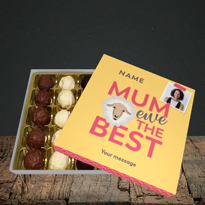 Picture of Ewe The Best, Mother's Day Design, Choc 25