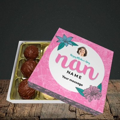 Picture of Happy Mother's Day Nan, Mother's Day Design, Choc 9