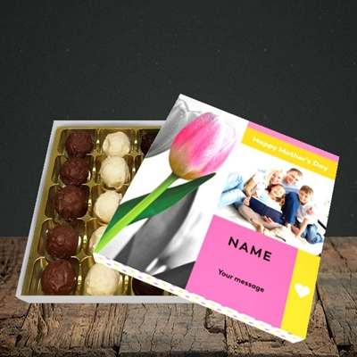 Picture of Mother's Day Tulips, Mother's Day Design, Choc 25