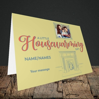 Picture of Housewarming, New Home Design, Landscape Greetings Card