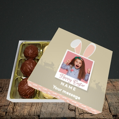 Picture of Hoppy Polaroid, Easter Design, Choc 9