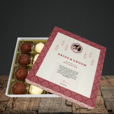 Picture of Moroccan Influences Red B&G, Wedding Design, Choc 16