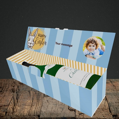 Picture of Bunny Of The Fells, Easter Design, Lay-down Bottle Box