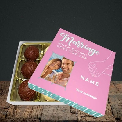 Picture of Dating Goes Too Far, Wedding Design, Choc 9