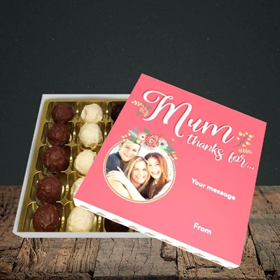 Picture of Mum Thanks For..., Mother's Day Design, Choc 16