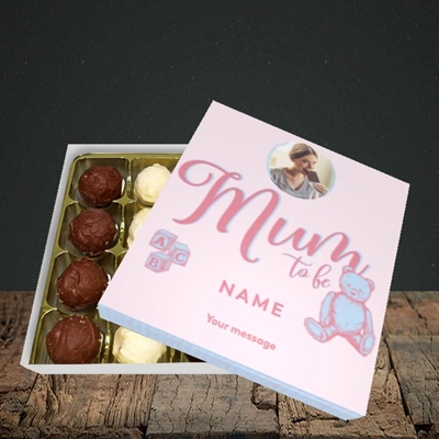 Picture of Mum To Be, Pregnancy Design, Choc 16