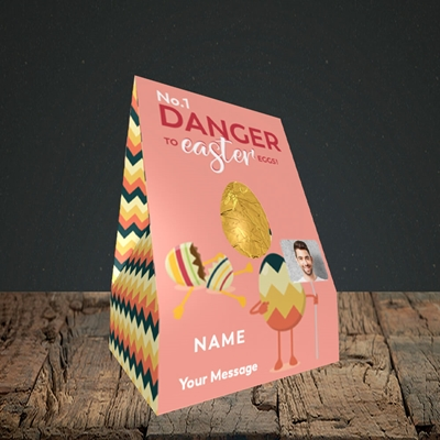Picture of No.1 Danger, Easter Design, Small Egg
