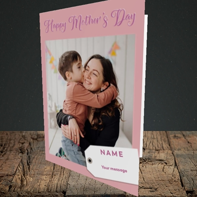 Picture of 1. Large Photo, Mother's Day Design, Portrait Greetings Card
