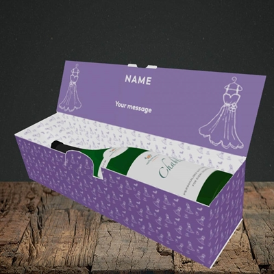 Picture of Got The Rock(Without Photo), Wedding Design, Lay-down Bottle Box