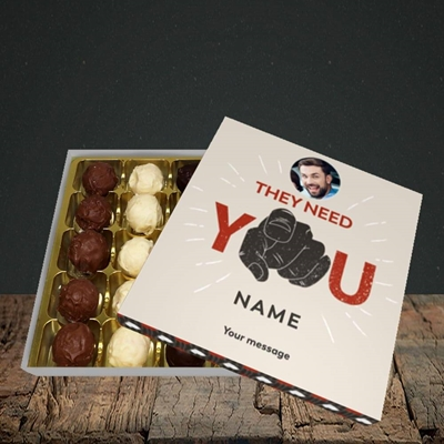 Picture of They Need You, New Job Design, Choc 25