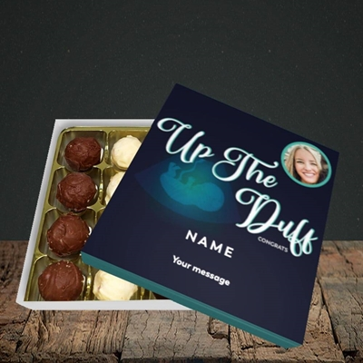Picture of Up The Duff, Pregnancy Design, Choc 16