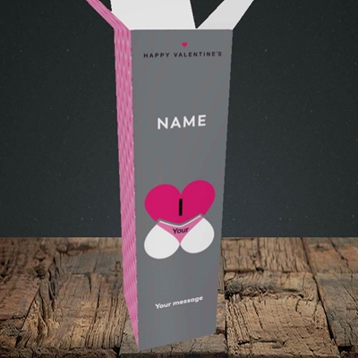 Picture of I Love Your Bum(Without Photo), Valentine's Design, Upright Bottle Box