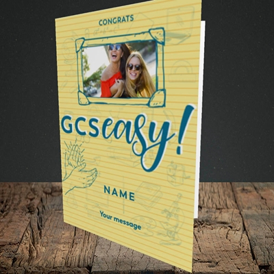 Picture of GCSeasy, Celebration Design, Portrait Greetings Card