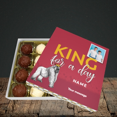 Picture of King For A Day, Father's Day Design, Choc 16