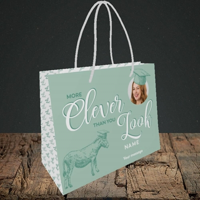 Picture of Clever, Graduation Design, Small Landscape Gift Bag